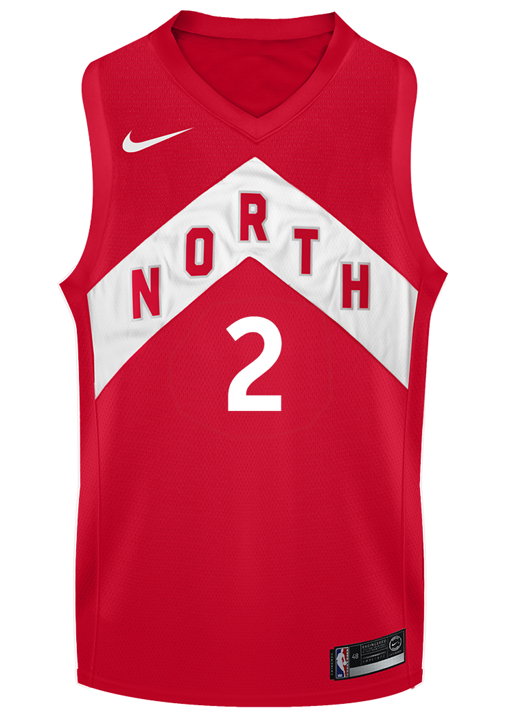 a42cff7c0b7 Toronto Raptors Nike Men s Swingman 2018 Earned Jersey - Leonard ...