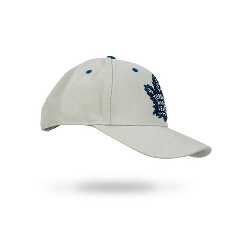 Toronto Maple Leafs Gray Adult Structured Adjustable Hat