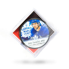 Maple Leafs Tavares Player Cube Puck