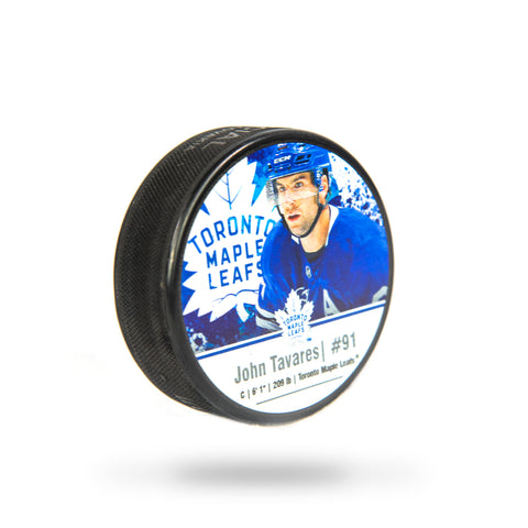 Toronto Maple Leafs John Tavares Player Cube Puck