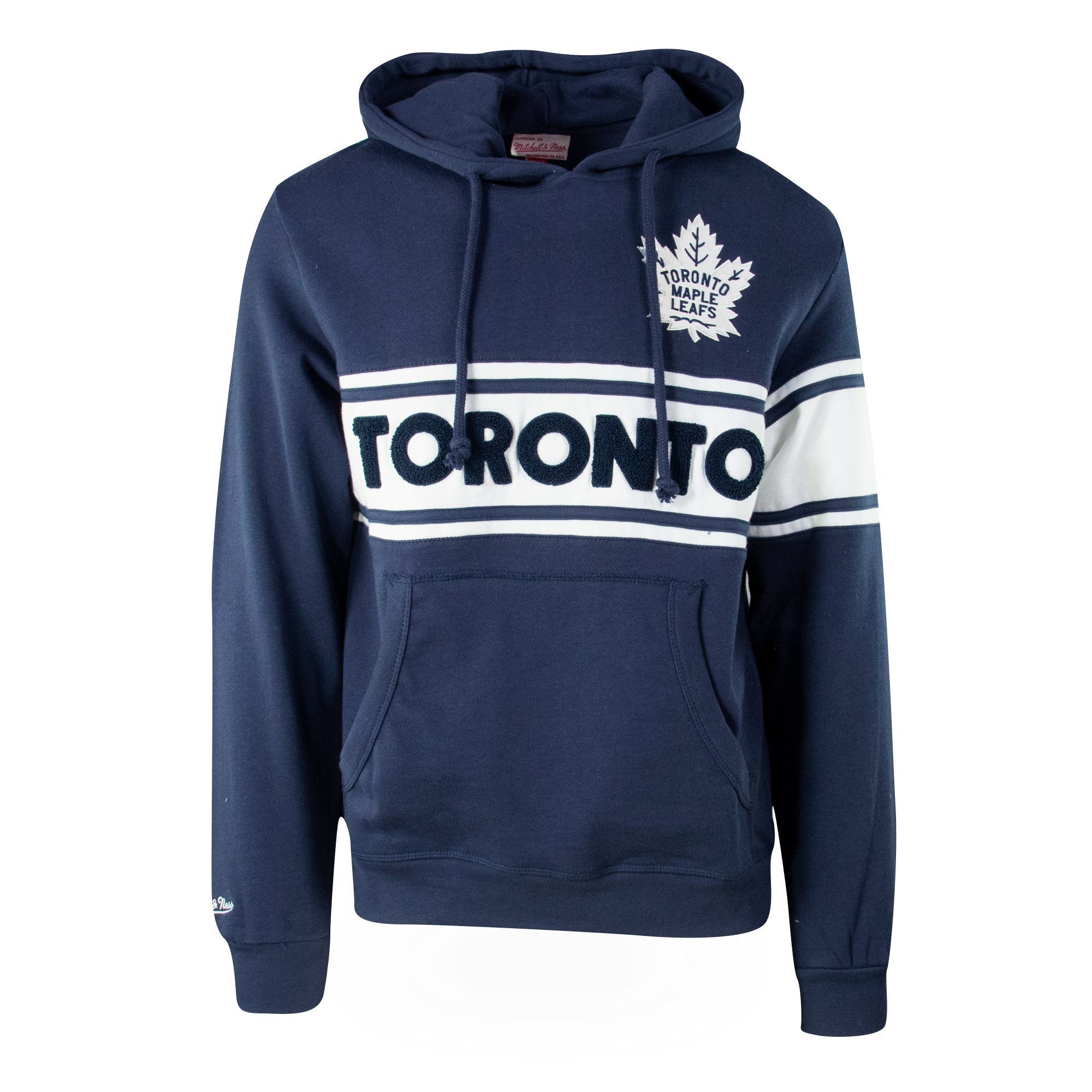 Maple Leafs Mitchell & Ness Men's Heritage TO Script Hoody