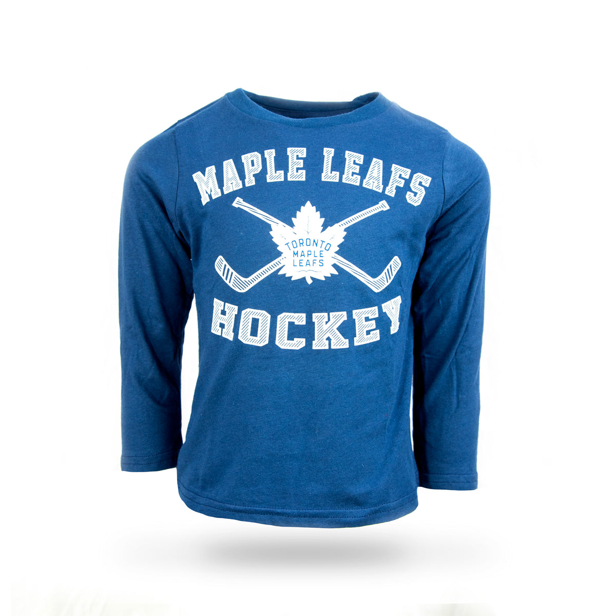 Maple Leafs Toddler Lines Crossed Long Sleeve