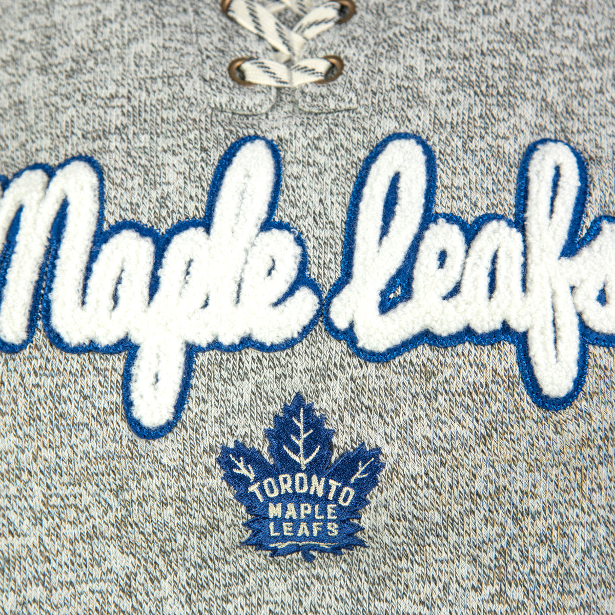 Toronto Maple Leafs Youth Girls Zenith Hacci Hoody
