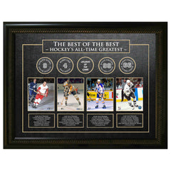 Best of The Best Unsigned NHL Greats Unsigned Frame