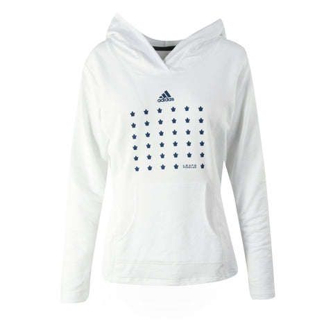 Maple Leafs Adidas Ladies Leafs Forever Hoody