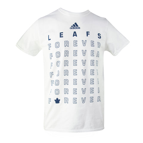 Maple Leafs Adidas Men's Leafs Forever Tee - White