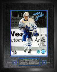 "Maple Leafs Mitchell Marner ""First Step"" Signed 16x20 Photo Framed"