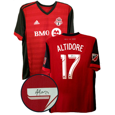Toronto FC Jozy Altidore Signed Jersey