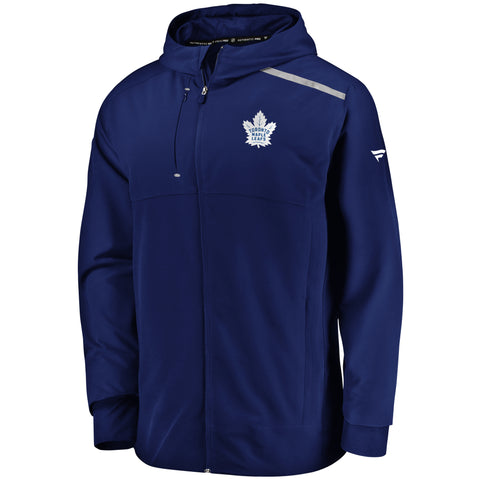 Maple Leafs Men's Authentic Pro Clutch Anorak Jacket