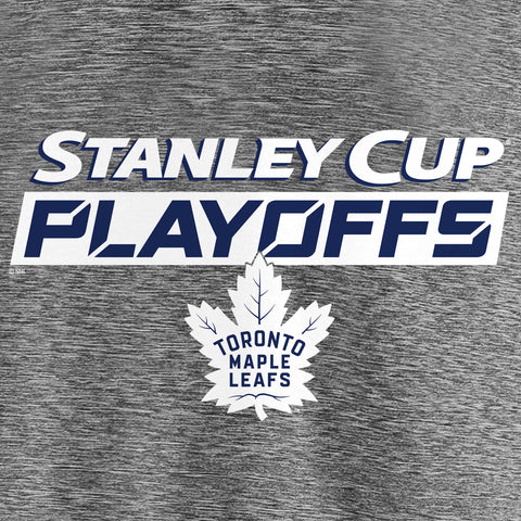Maple Leafs Fanatics Men's 2019 Playoffs Authentic Clutch Tee