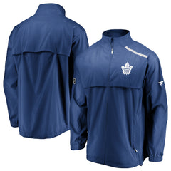 Maple Leafs Men's Authentic Rinkside Mock Neck Jacket