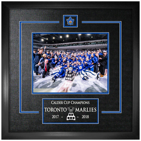 Marlies Calder Cup Champions 8x10 Photo Framed