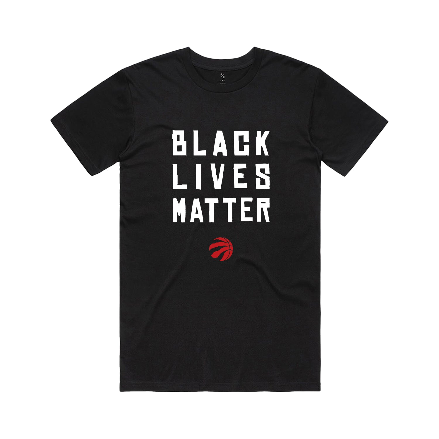 Raptors Peace Collective Black Lives Matter Tee