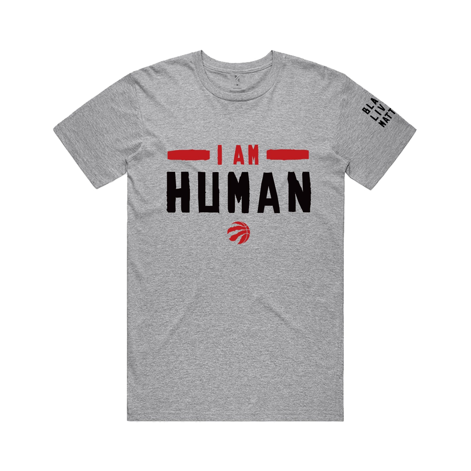 Raptors Peace Collective I Am Human Tee