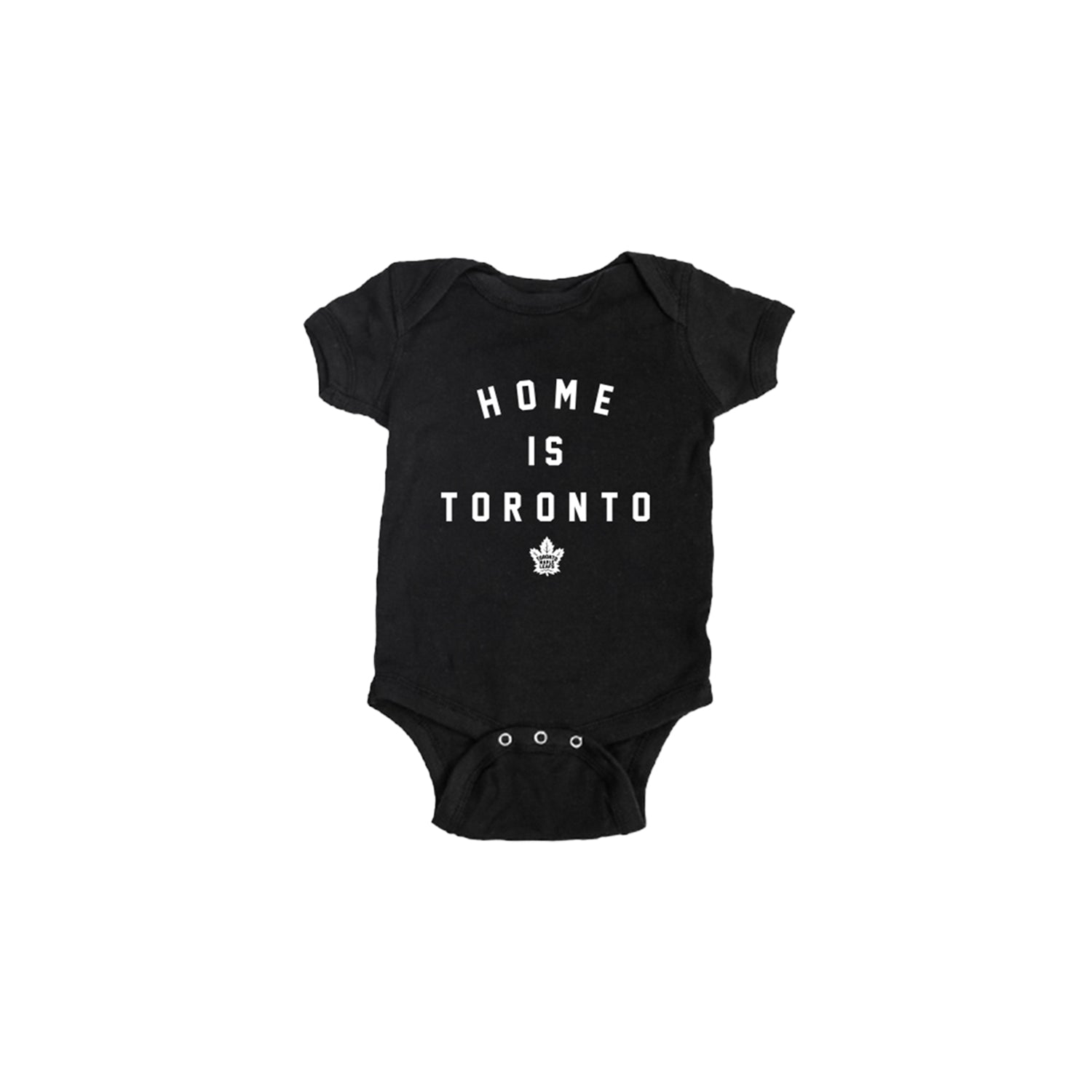 Maple Leafs Peace Collective Infant Home is Toronto Onesie