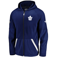 Maple Leafs Men's Authentic Rinkside Full Zip Hoody