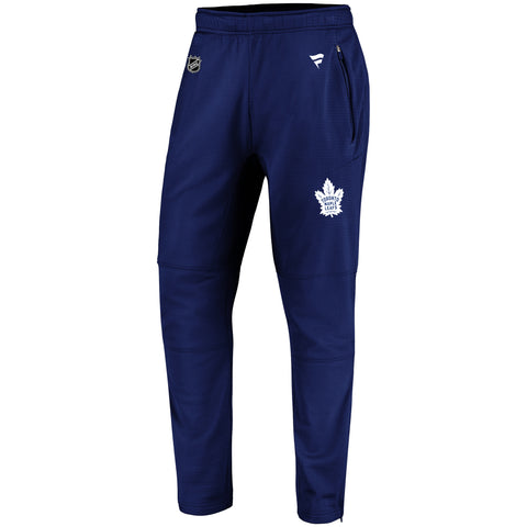 Maple Leafs Fanatics Men's Authentic Pro Rinkside Travel Pants