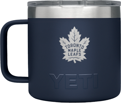 Maple Leafs Yeti Rambler 140z Mug - Navy