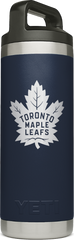Maple Leafs Yeti Rambler 18oz Bottle - Navy