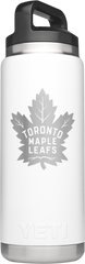 Maple Leafs Yeti Rambler 26oz Bottle - White