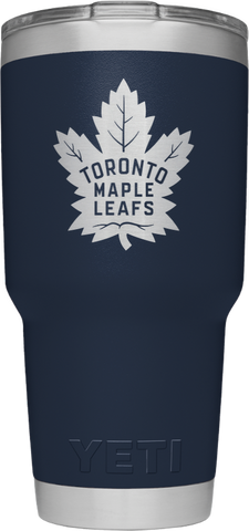 Maple Leafs Yeti Rambler 30oz Tumbler - Navy