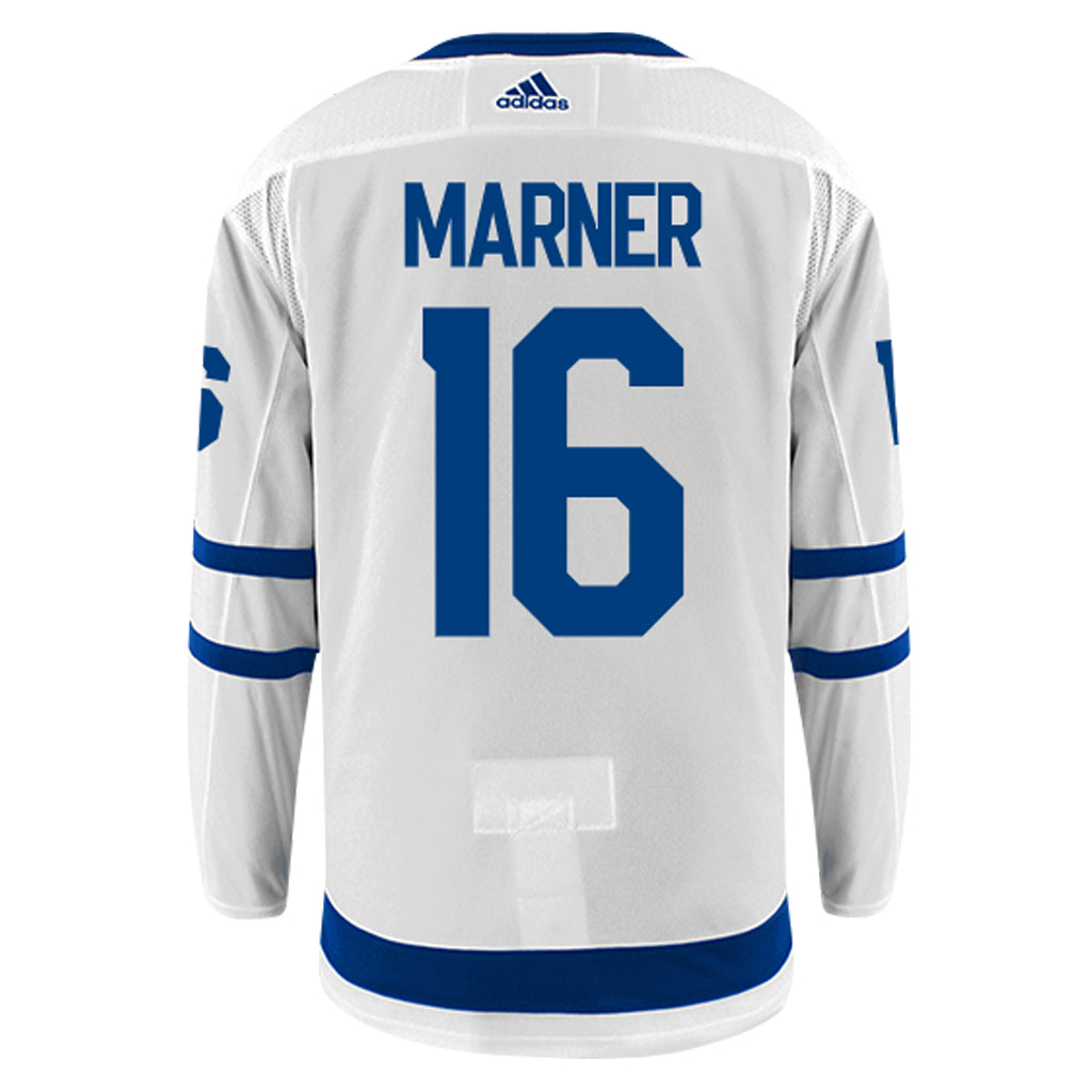 best service 92eb2 8b0a0 Maple Leafs Adidas Authentic Men's Away Jersey - MARNER