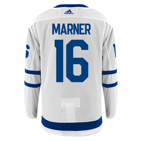 Toronto Maple Leafs Adidas Authentic Mens MARNER Away Jersey