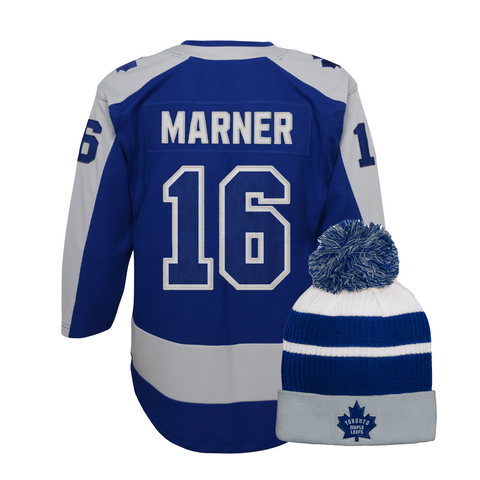 Maple Leafs Youth Special Edition Jersey + Pom Toque - MARNER