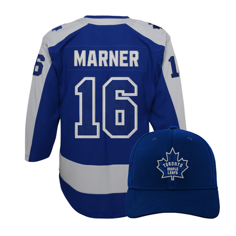 Maple Leafs Youth Special Edition Jersey + Hat - MARNER