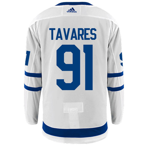 Toronto Maple Leafs Adidas Authentic Mens TAVARES Away Jersey