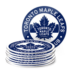 Toronto Maple Leafs Eight Pack Coaster Set