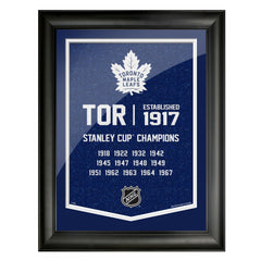 Toronto Maple Leafs 12x16 Team Empire Framed Artwork