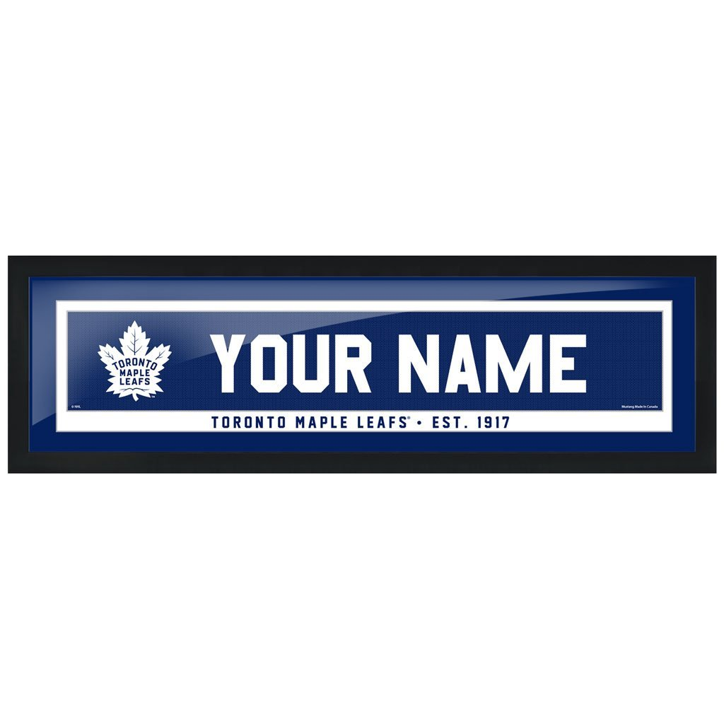 Toronto Maple Leafs-6x22 Team Personalization Pic Frame