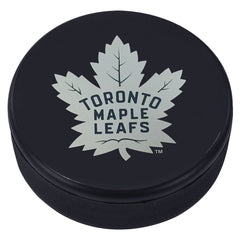 Toronto Maple Leafs New Logo Souvenir Puck - shop.realsports - 1