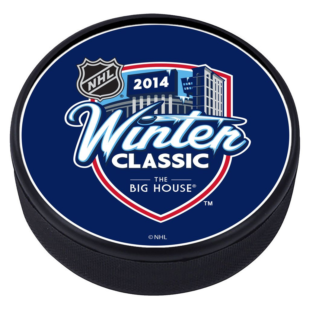 NHL Winter Classic Textured Puck - 2014