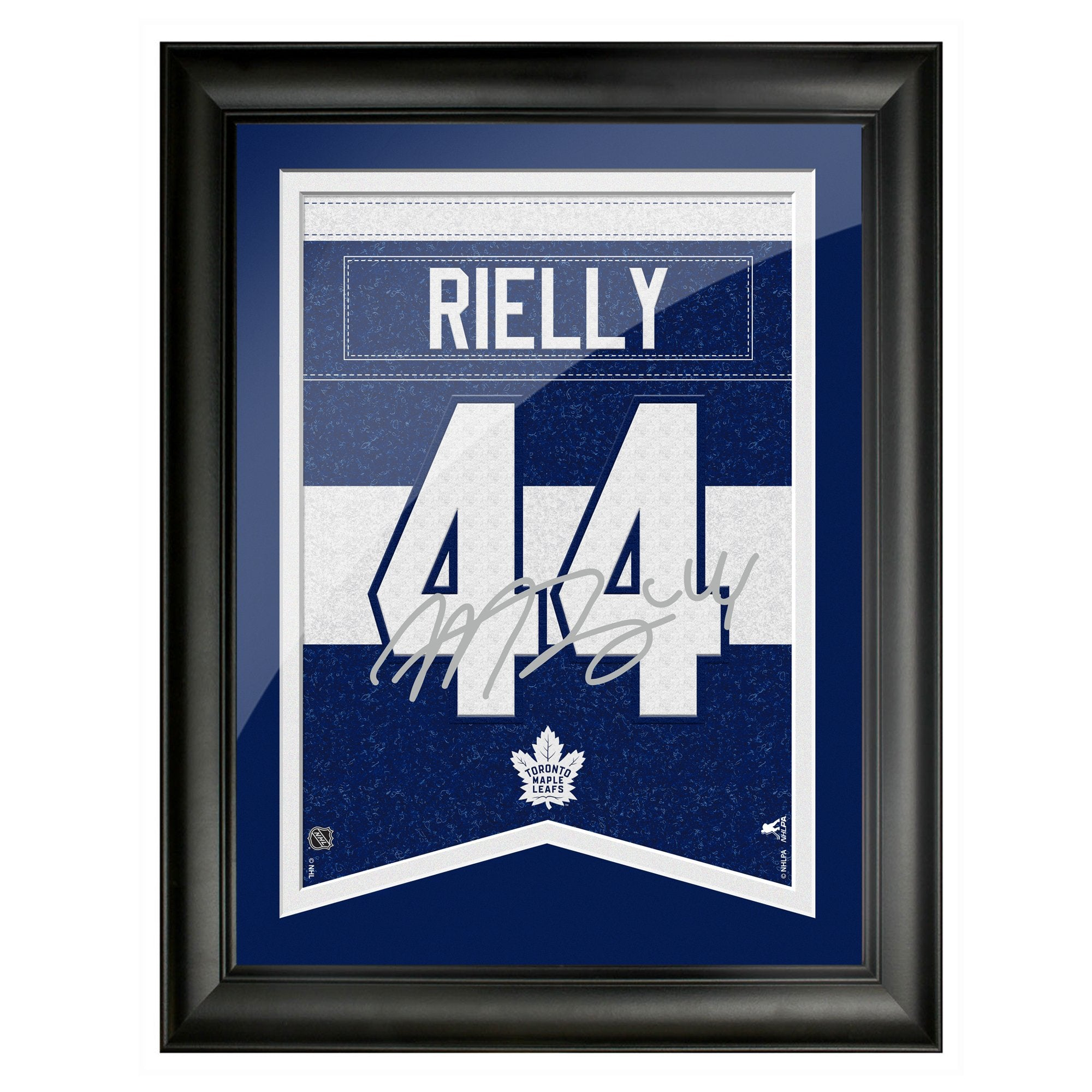 Toronto Maple Leafs Rielly 12x16 Framed Player Number with Replica Autograph