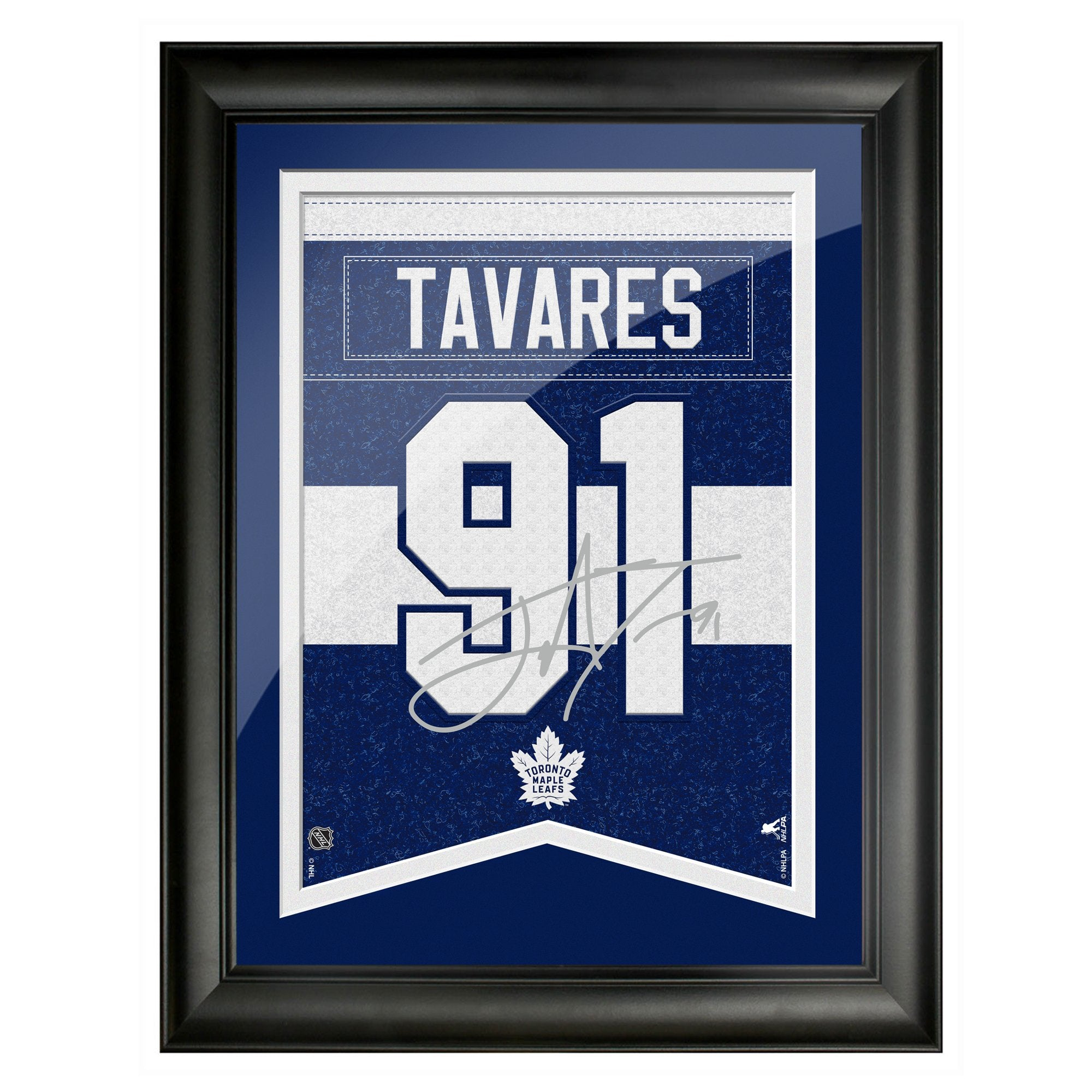 Toronto Maple Leafs Tavares 12x16 Framed Player Number with Replica Autograph