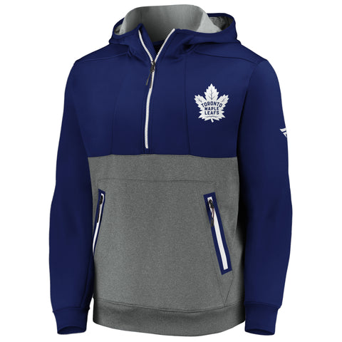 Maple Leafs Men's Authentic Pro Travel & Training 1/2 Hoody