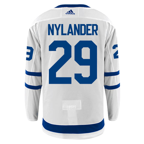 Toronto Maple Leafs Adidas Authentic Mens NYLANDER Away Jersey