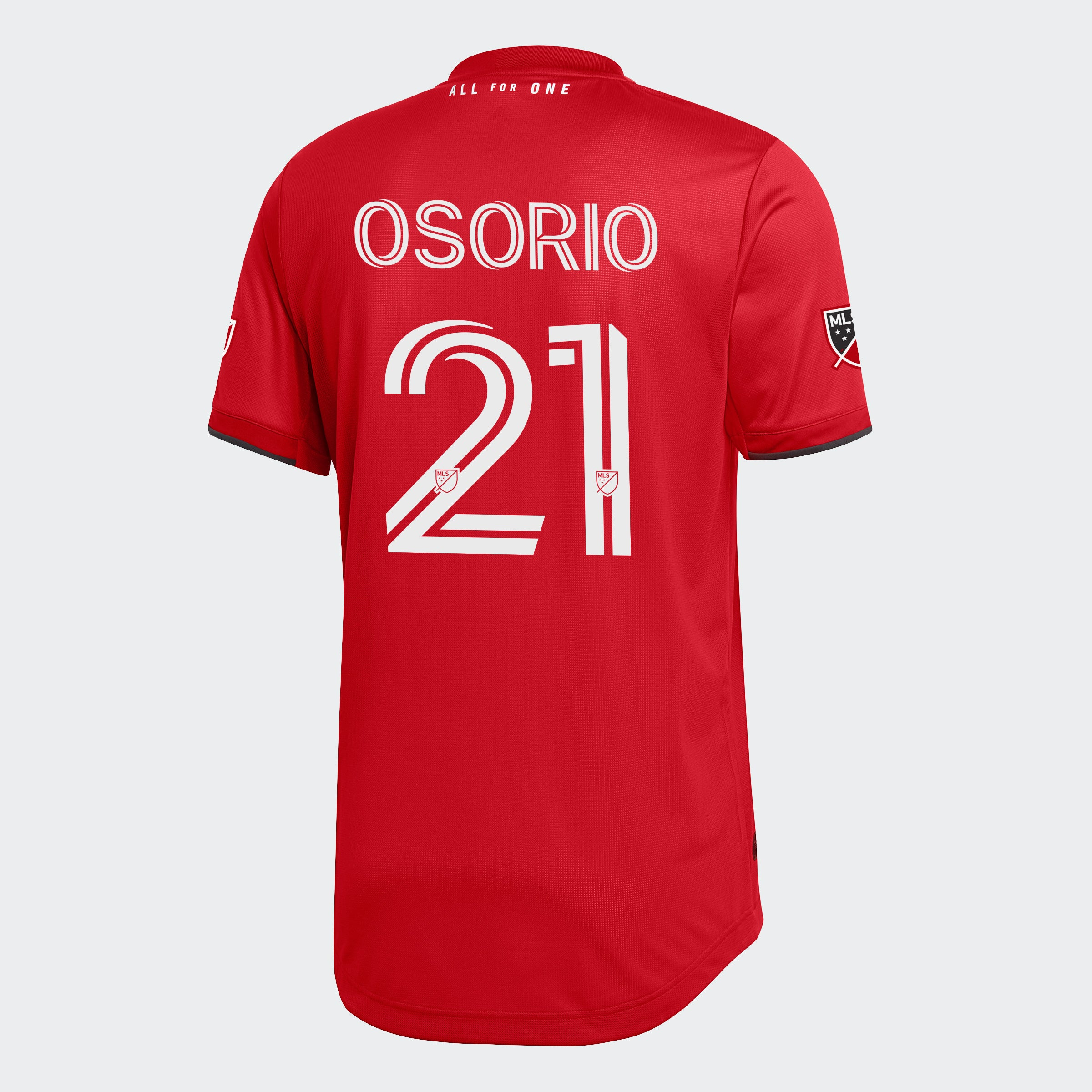 Toronto FC Adidas Men's 2020 Authentic Home Jersey - OSORIO