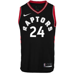 Toronto Raptors Youth Swingman Powell Statement Jersey