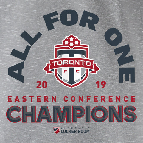 Toronto FC Fanatics Men's 2019 Eastern Conference Champs Tee