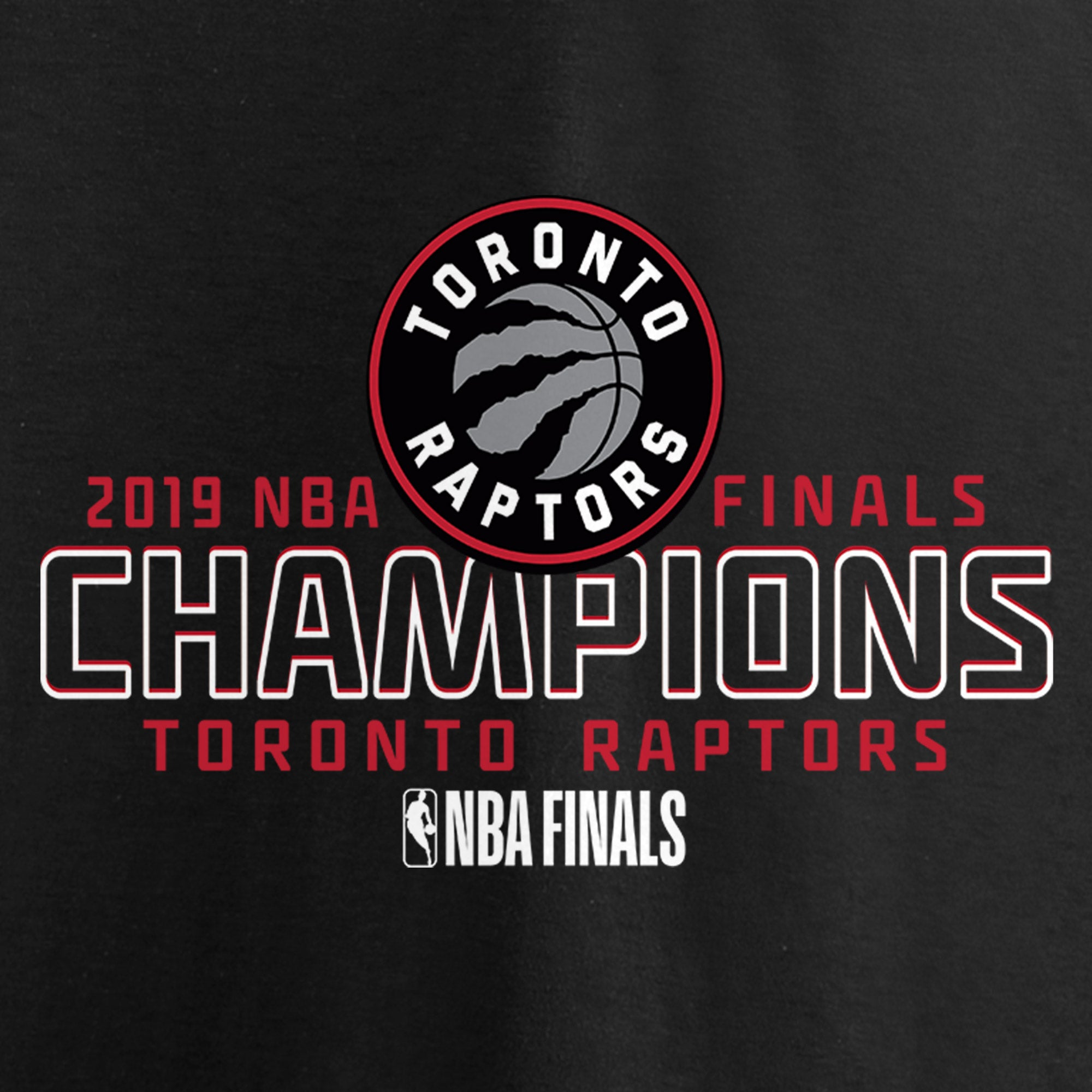 Raptors Fanatics Men's 2019 NBA Champs Faces of Victory Tee