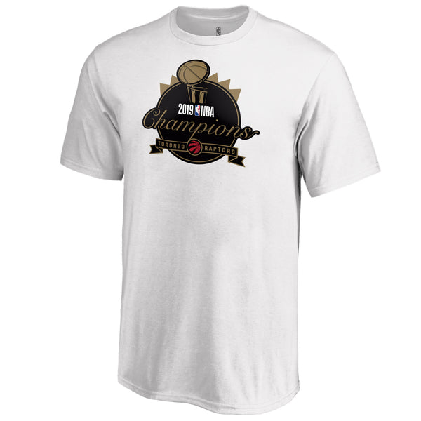 Raptors Fanatics Youth 2019 NBA Champs Graphic Tee - White