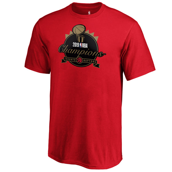 Raptors Fanatics Youth 2019 NBA Champs Graphic Tee - Red