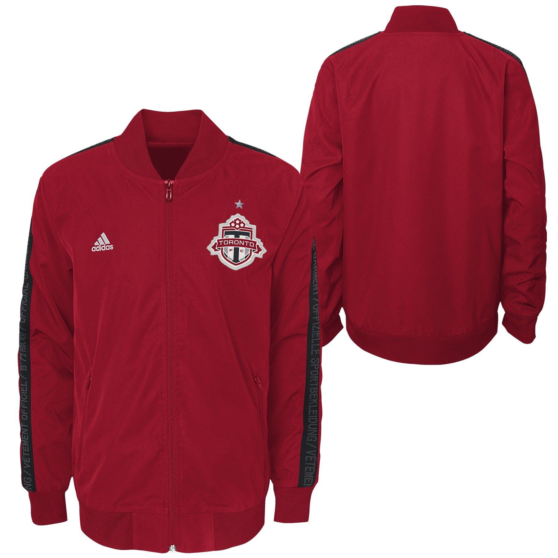 Toronto FC Adidas Youth 2019 Anthem Jacket