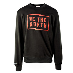 Raptors Mitchell & Ness Men's We the North Flag Crew Sweater