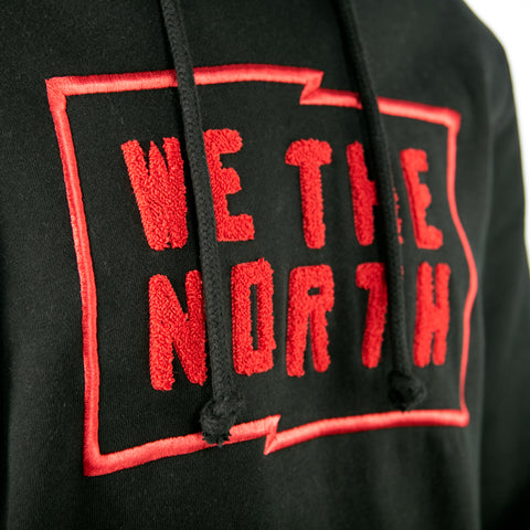 Raptors Mitchell & Ness Men's We the North Flag Hoody