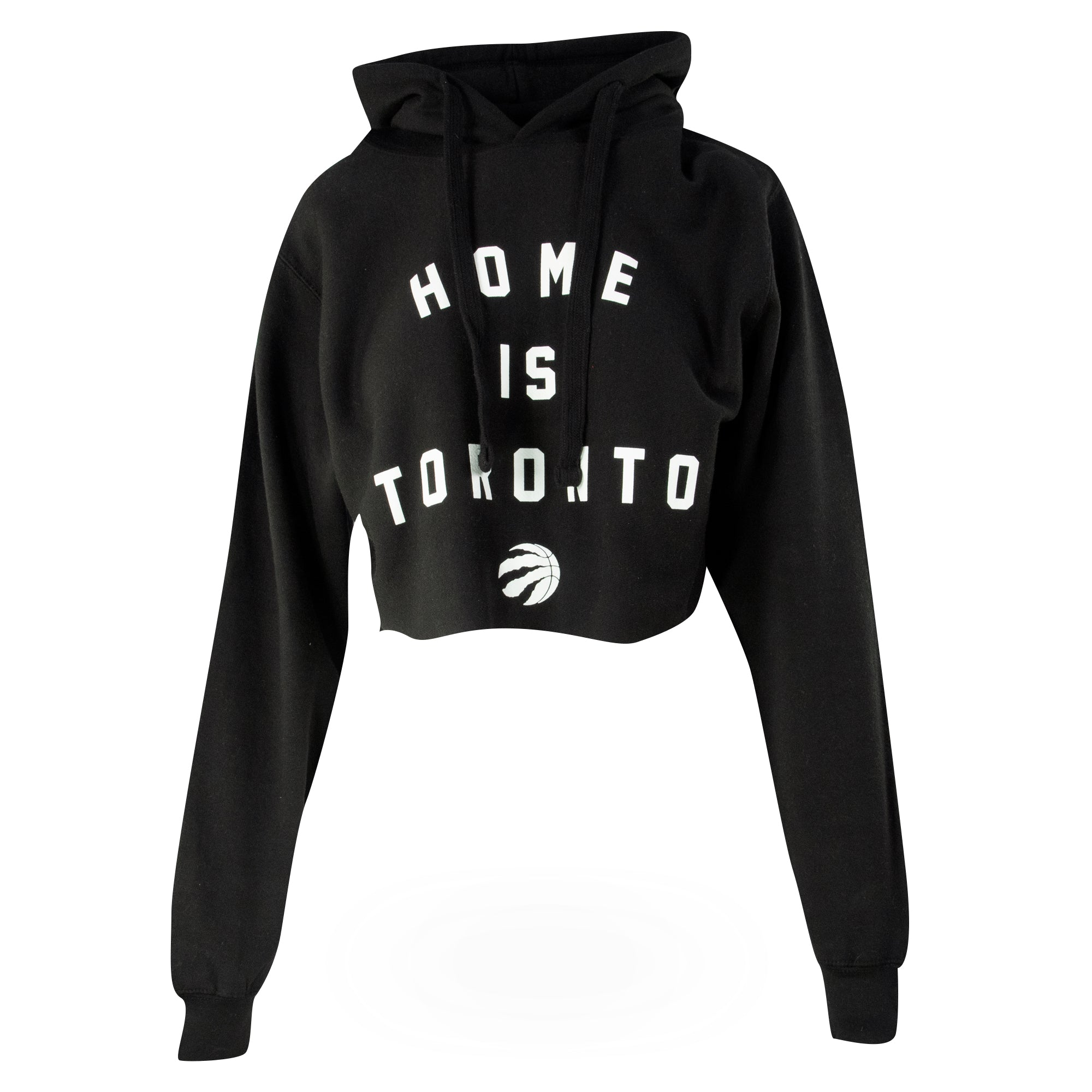 Raptors Peace Collective Ladies Crop Hoody