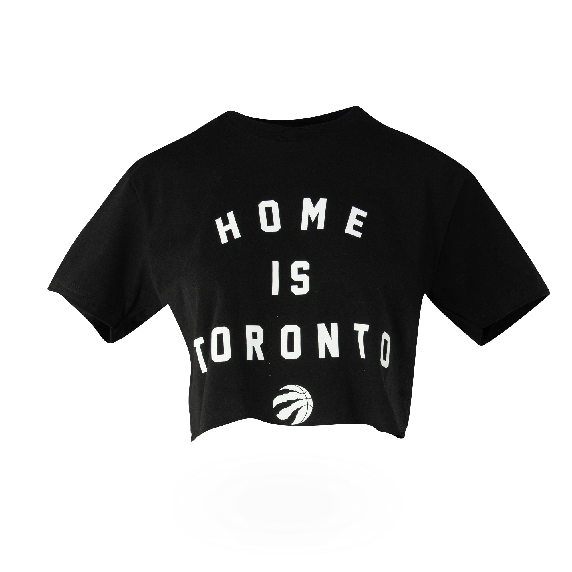 Raptors Peace Collective Ladies Crop Tee